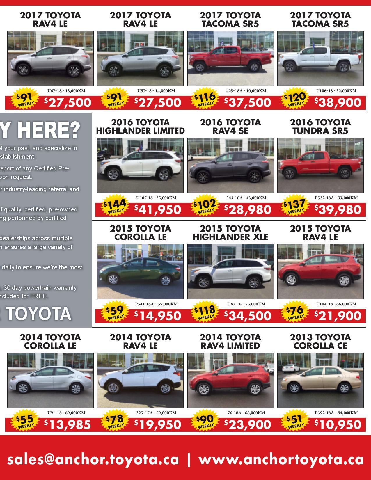 Anchor Toyota flyer 003
